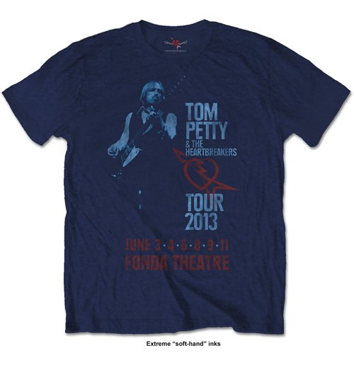 Tom Petty Men's Tee: Fonda Theatre
