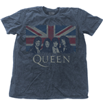 Queen Men's Fashion Tee: Vintage Union Jack