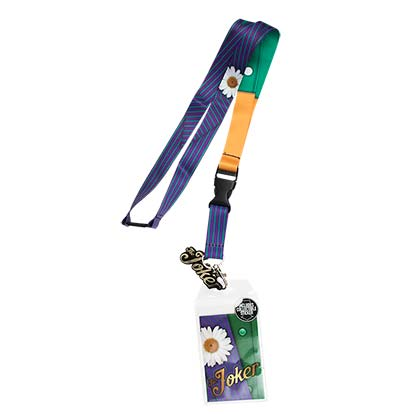 JOKER Purple Lanyard
