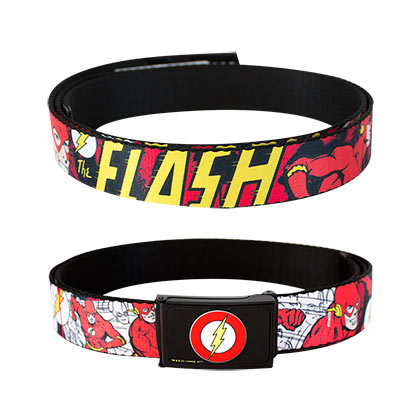 The FLASH Comic Web Belt