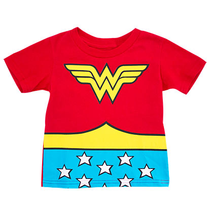 WONDER WOMAN Toddler's Cape Tee Shirt