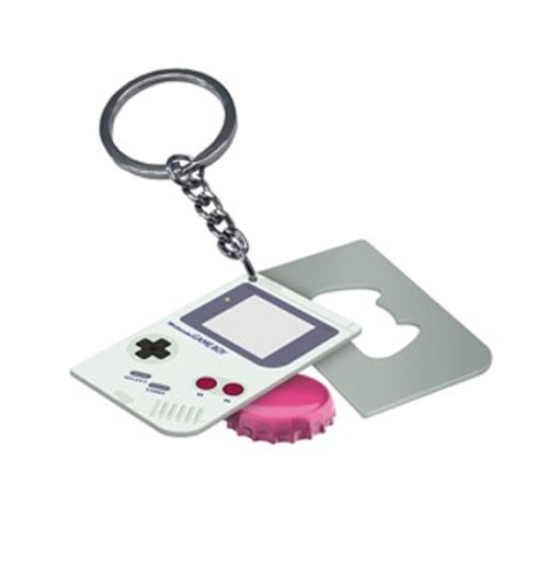 nintendo game boy keychain with bottle opener game boy for only at merchandisingplaza uk. Black Bedroom Furniture Sets. Home Design Ideas