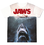 Jaws Sublimation T-Shirt Shark