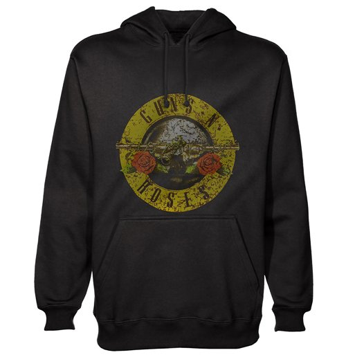 Guns N' Roses Men's Hooded Top: Classic Logo
