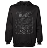 AC/DC Men's Hooded Top: Cannon Swig
