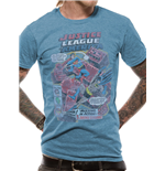 Justice League - Batman V Superman Comic - Unisex T-shirt Blue