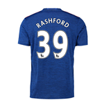 2016-17 Manchester United Away Shirt (Rashford 39)