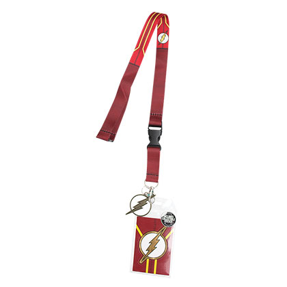 FLASH Red Lanyard