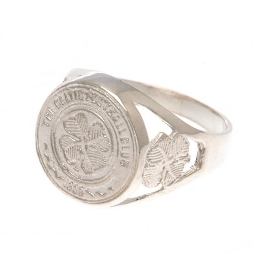 Celtic F.C. Sterling Silver Ring Small