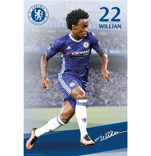 Chelsea - Willian 16/17 Maxi Poster (61x91,5 Cm)