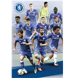 Chelsea Poster - Players 16/17 -  61x91,5 Cm