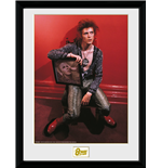 David Bowie Framed Print - Chair