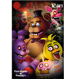 Five Nights at Freddy's Poster - Group - 61x91,5 Cm