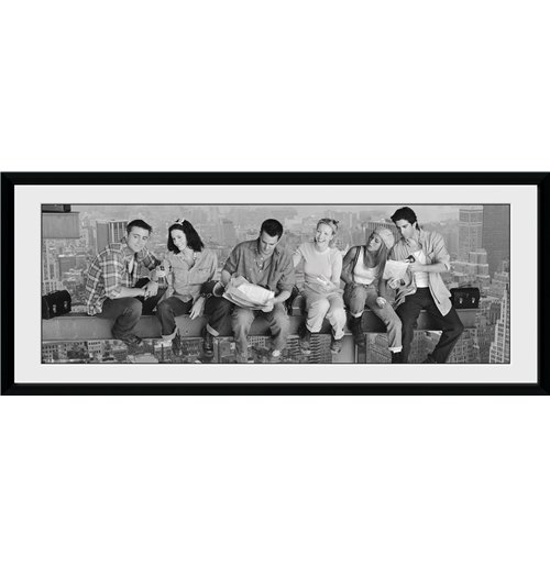 Friends Framed Print - Girder - 75 x 30 cm
