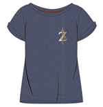 The Legend of Zelda Breath of the Wild Ladies T-Shirt Logo