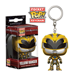 Power Rangers Pocket POP! Vinyl Keychain Yellow Ranger 4 cm