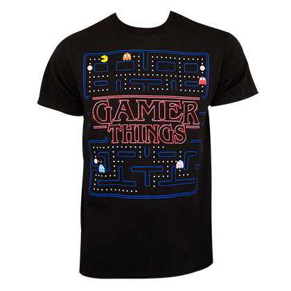 Pac Man Gamer Things Tee Shirt