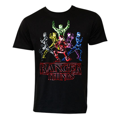 POWER RANGERS Ranger Things Tee Shirt