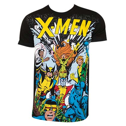 973a452f Official X-MEN Comic Tee Shirt: Buy Online on Offer