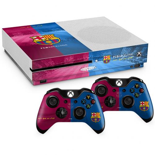 F.C. Barcelona Xbox One S Skin Bundle