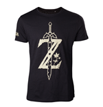 Zelda - T-Shirt Men's Z with Sword
