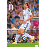 Real Madrid Poster - Bale 14/15 - 61x91,5 Cm