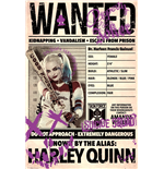 Suicide Squad Poster - Harley Wanted