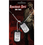 Resident Evil Dog Tag Necklace - Stars