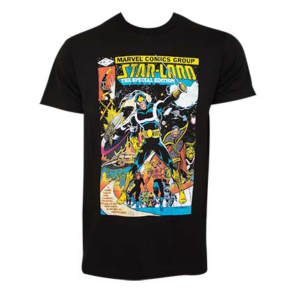 GUARDIANS OF THE GALAXY Star Lord Comic Tee Shirt