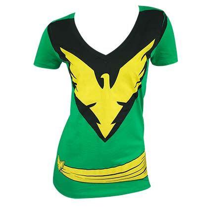 X-MEN Phoenix Women's Costume Tee Shirt