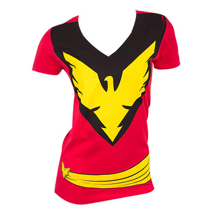 X-MEN Dark Phoenix Women's Costume Tee Shirt