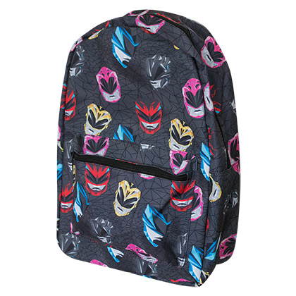 POWER RANGERS Black Backpack