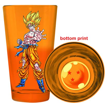 Dragonball Z Pint Glass