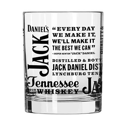 JACK DANIELS Spirit Rocks Glass