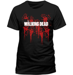 The Walking Dead T-shirt - Bloody Hands Logo