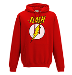 The Flash - Logo And Symbol - Unisex Hooded Sweatshirt