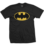 DC Comics Men's Tee: Batman Logo