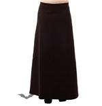 Classic Long Black Skirt