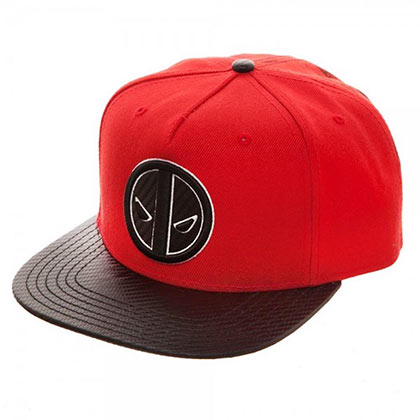 DEADPOOL Carbon Fiber Snapback Hat