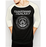 Guardians Of The Galaxy Vol 2 - Crest - Unisex Baseball Shirt Black