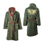 The Legend of Zelda Fleece Bathrobe Logo