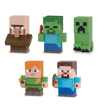 Minecraft Mine-Keshi Figures 4 cm Character Box Assortment (15)