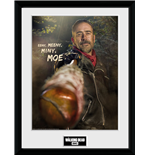 The Walking Dead - Negan Framed picture (30x40 Cm)