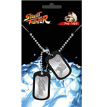 Street Fighter Dog Tag Necklace 255254