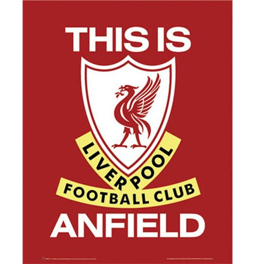 Liverpool FC Poster - This Is Anfield - 40x50 Cm