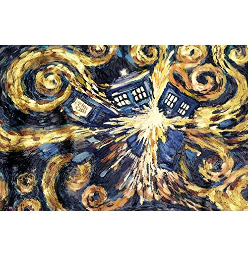 Doctor Who - Exploding Tardis Maxi Poster (61x91,5 Cm)