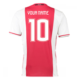 2016-17 Ajax Home Shirt (Your Name)