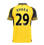 2016-17 Arsenal Away Shirt (Xhaka 29)