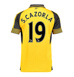 2016-17 Arsenal Away Shirt (S.Cazorla 19) - Kids