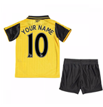 2016-17 Arsenal Away Mini Kit (Your Name)